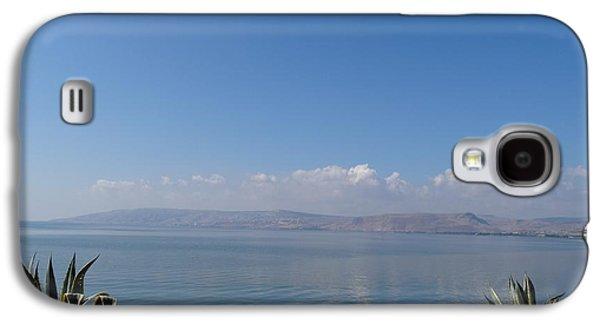 The Sea Of Galilee At Capernaum Galaxy S4 Case by Karen Jane Jones