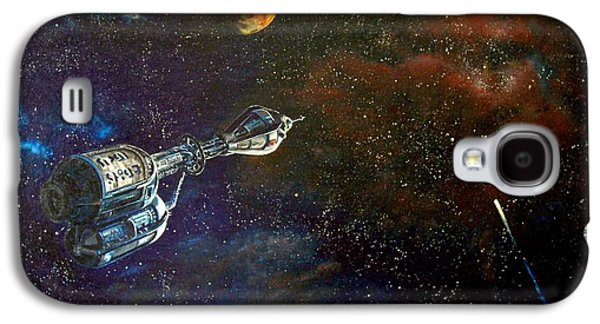 The Search For Earth Galaxy S4 Case by Murphy Elliott