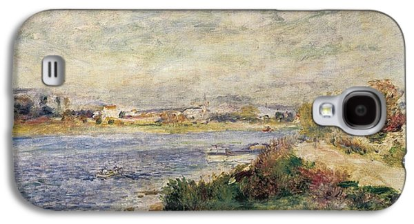 The Seine In Argenteuil Galaxy S4 Case by Pierre-Auguste Renoir