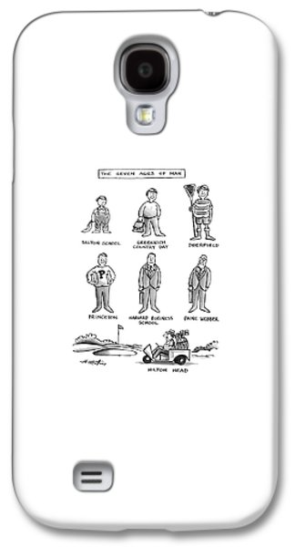 The Seven Ages Of Man Galaxy S4 Case by Henry Martin