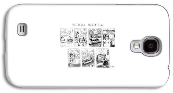 The Seven Deadly Sins Galaxy S4 Case