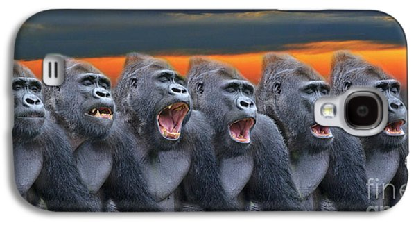 The Singing Gorillas Galaxy S4 Case