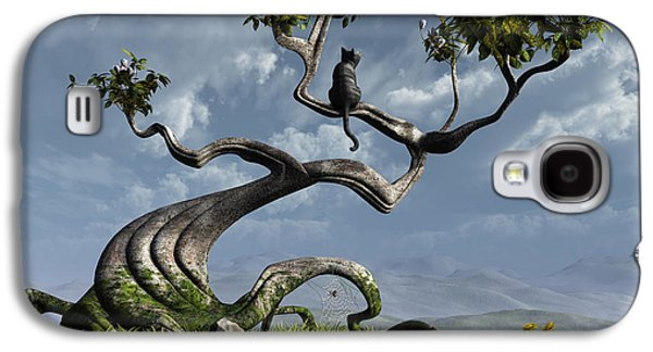 The Sitting Tree Galaxy S4 Case by Cynthia Decker