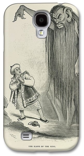 The Slave Of The Ring Galaxy S4 Case by British Library