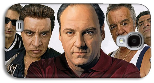 The Sopranos  Artwork 2 Galaxy S4 Case by Sheraz A