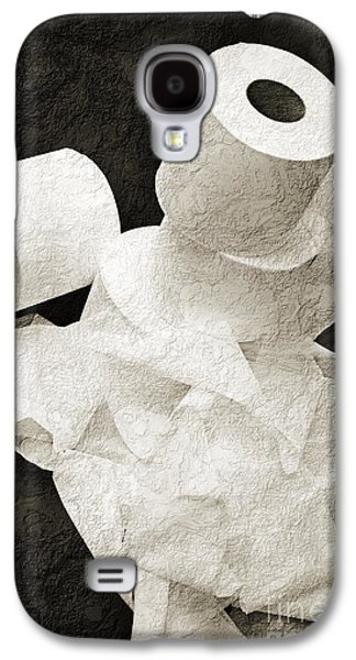 The Spare Rolls 1 - Toilet Paper - Bathroom Design - Restroom - Powder Room Galaxy S4 Case