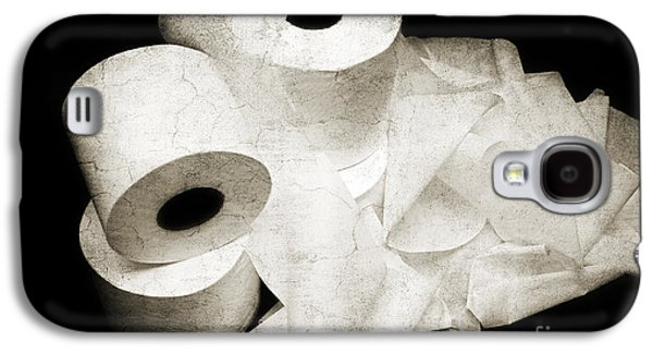 The Spare Rolls 2 - Toilet Paper - Bathroom Design - Restroom - Powder Room Galaxy S4 Case