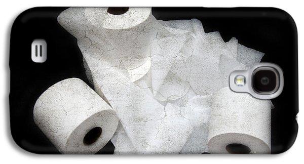 The Spare Rolls 3 - Toilet Paper - Bathroom Design - Restroom - Powder Room Galaxy S4 Case