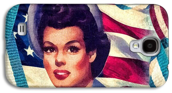 The Spirit Of America Galaxy S4 Case by Mo T