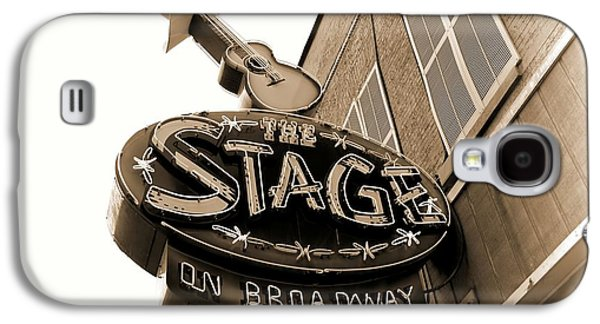 The Stage On Broadway Nashville Tennessee Galaxy S4 Case