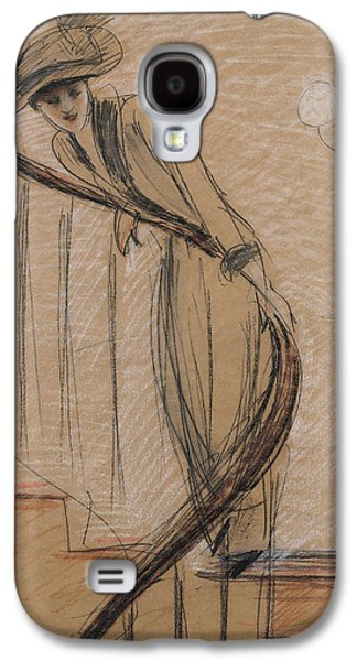 The Staircase Galaxy S4 Case by Paul Cesar Helleu