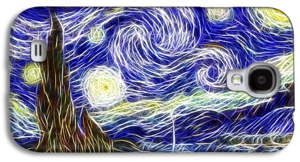 The Starry Night Reimagined Galaxy S4 Case