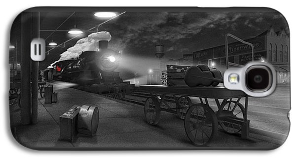 The Station - Panoramic Galaxy S4 Case by Mike McGlothlen