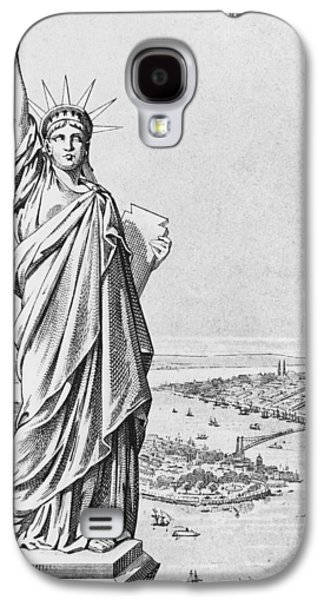 The Statue Of Liberty New York Galaxy S4 Case