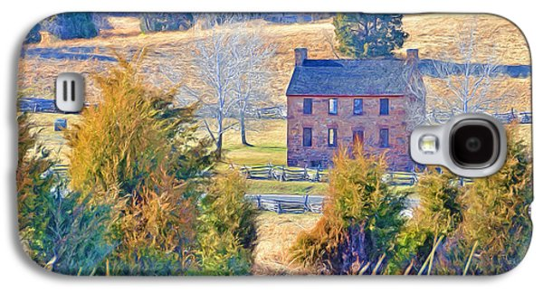 The Stone House / Manassas National Battlefield Park In Winter Galaxy S4 Case