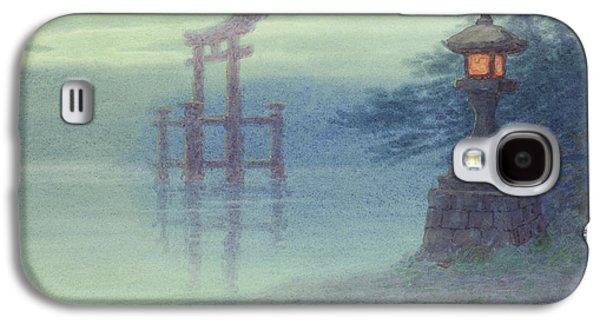 The Stone Lantern Cira 1880 Galaxy S4 Case by Aged Pixel