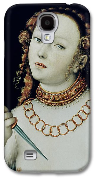 The Suicide Of Lucretia Galaxy S4 Case by Lucas the Elder Cranach