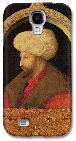 The Sultan Mehmet II 1432-81 1480 Oil On Canvas Galaxy S4 Case by Gentile Bellini