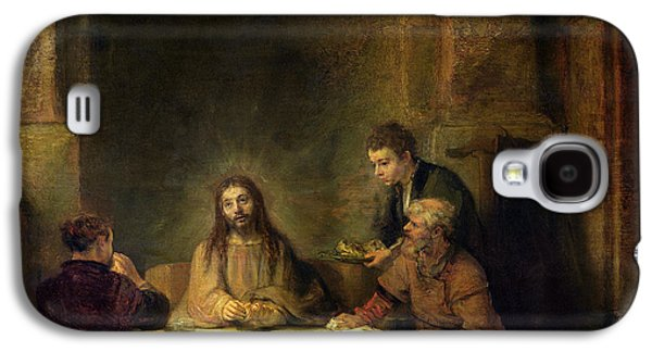 The Supper At Emmaus, 1648 Oil On Panel Galaxy S4 Case