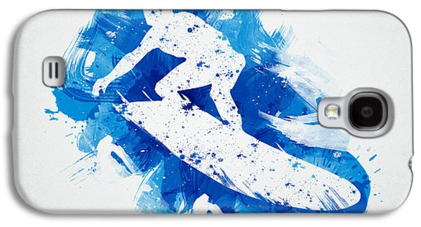 The Surfer Galaxy S4 Case by Aged Pixel