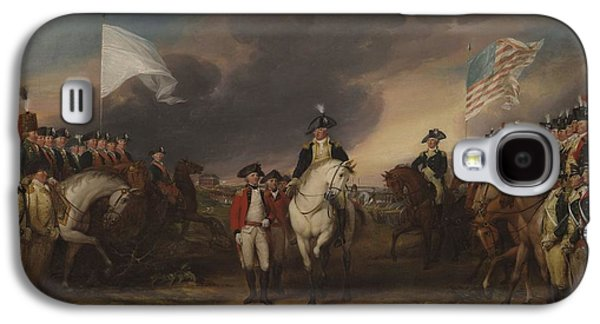 The Surrender Of Lord Cornwallis At Yorktown, October 19, 1781 Galaxy S4 Case
