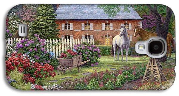 The Sweet Garden Galaxy S4 Case by Chuck Pinson