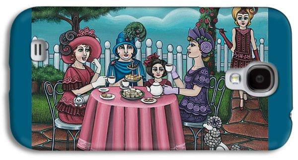 The Tea Party Galaxy S4 Case by Victoria De Almeida