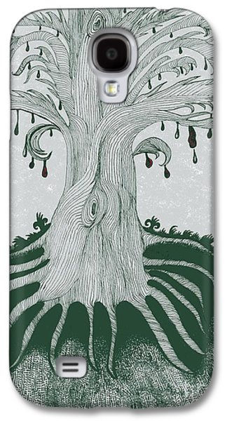 The Tearing Tree Galaxy S4 Case by Dyana Schoenstadt