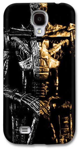 The Terminator Silver And Gold Galaxy S4 Case by Tommytechno Sweden