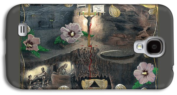 The Testimony Of Ron Wyatt - Ark Of The Covenant Galaxy S4 Case by EBENLO Artist