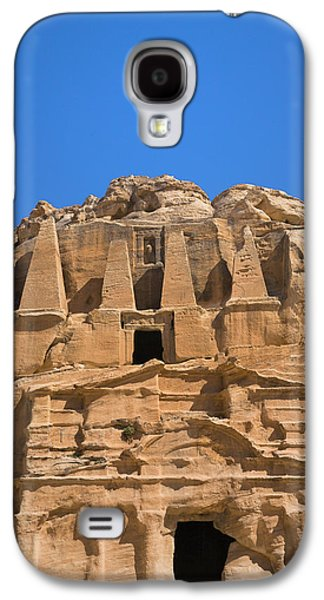 The Tomb Of Obelisks, Petra, Jordan Galaxy S4 Case by Keren Su