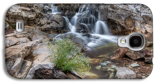 The Top Of Carr Canyon Falls Galaxy S4 Case