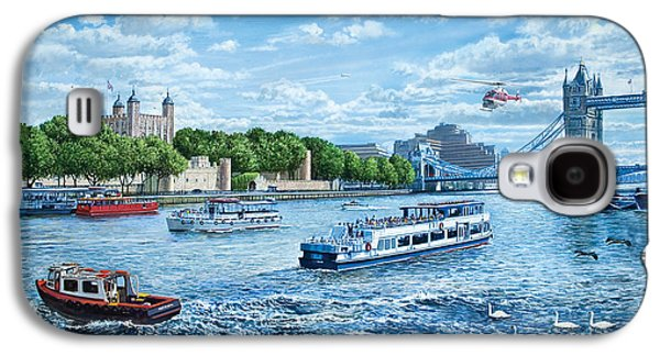 The Tower Of London Galaxy S4 Case by Steve Crisp