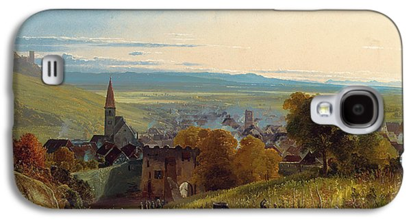 The Travellers Galaxy S4 Case by Christian Ernst Bernhard Morgenstern