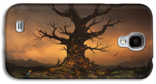 The Tree Galaxy S4 Case by Cassiopeia Art