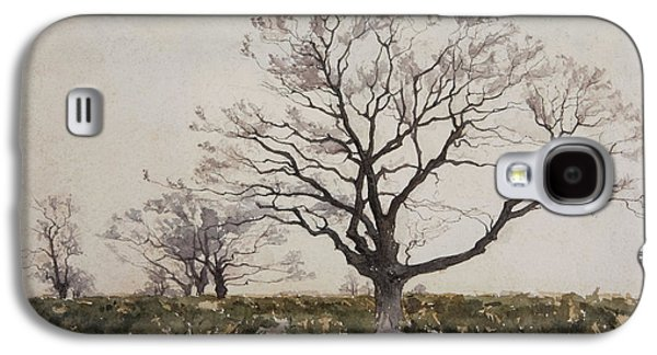 The Tree  Galaxy S4 Case by Henri Duhem
