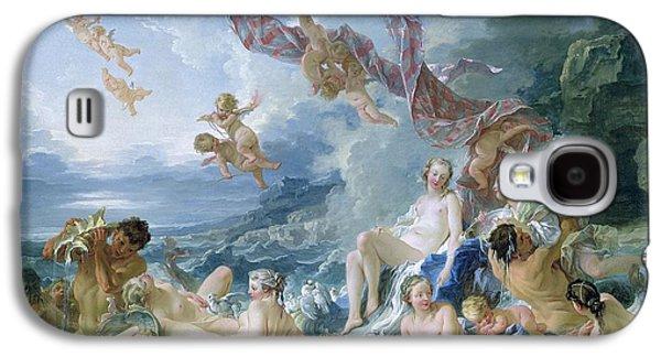 The Triumph Of Venus Galaxy S4 Case by Francois Boucher