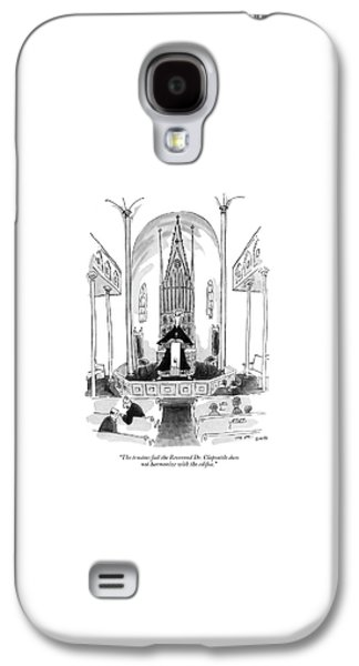 The Trustees Feel The Reverend Dr. Clapsattle Galaxy S4 Case