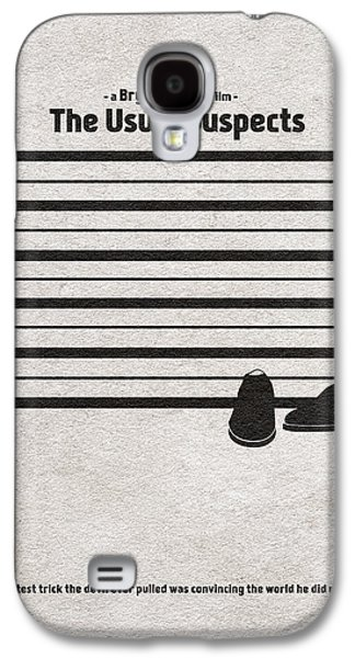 The Usual Suspects Galaxy S4 Case by Ayse Deniz