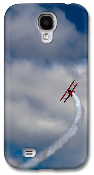 Airplane Galaxy S4 Case - The Vapor Trail by David Patterson