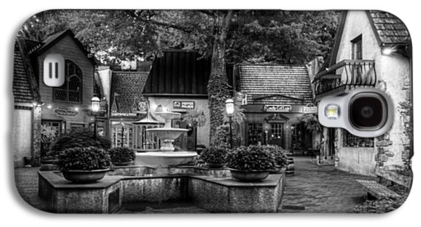 The Village Of Gatlinburg In Black And White Galaxy S4 Case by Greg and Chrystal Mimbs