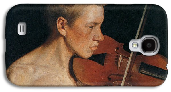 Violin Galaxy S4 Case - The Violinist by Celestial Images