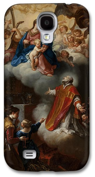 The Vision Of St. Philip Neri, 1721 Galaxy S4 Case by Marco Benefial