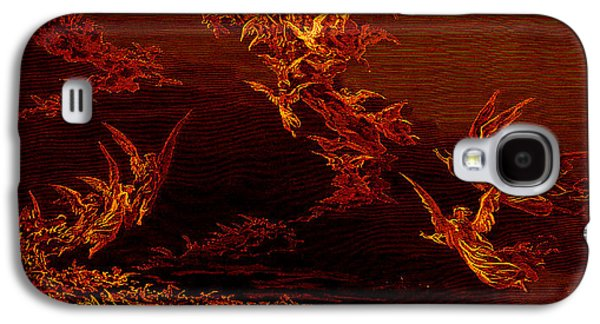 The Vision Of The Sixth Heaven Galaxy S4 Case by Gustave Dore