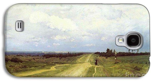 The Vladimirka Road Galaxy S4 Case by Isaak Ilyich Levitan