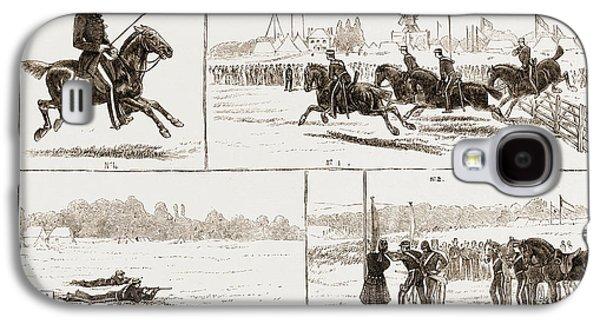The Volunteer Camp At Wimbledon Uk 1873 Galaxy S4 Case