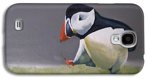 The Walking Puffin Galaxy S4 Case by Eric Burgess-Ray