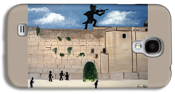 The  Western Wall And Fiddler On The Roof Galaxy S4 Case