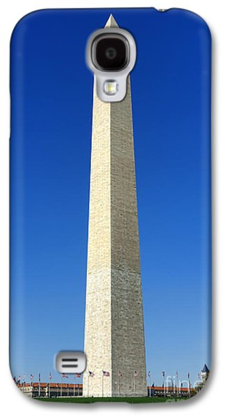 Washington Monument Galaxy S4 Case - The Washington Monument by Olivier Le Queinec