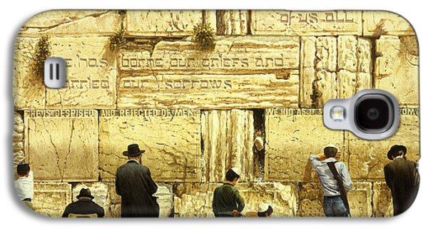The Western Wall  Jerusalem Galaxy S4 Case by Graham Braddock